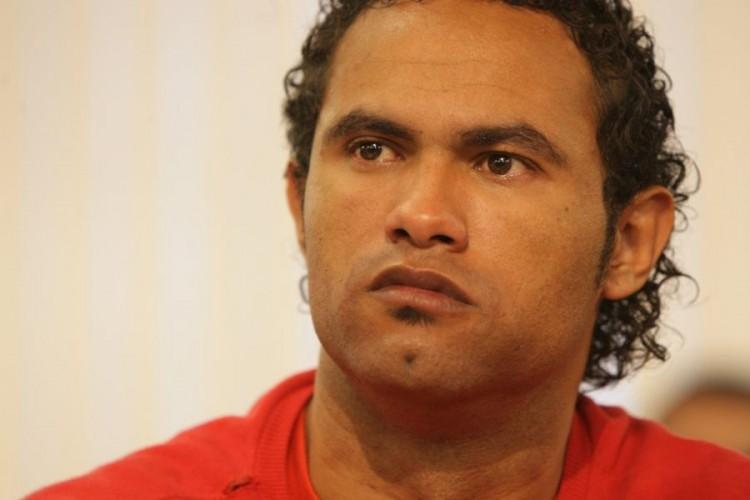 Goleiro Bruno presta depoimento da Comissão de Direitos Humanos da Assembleia Legislativa de Minas