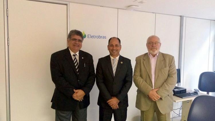 Em Brasília prefeito cobra celeridade no programa Luz para todos em Machadinho do Oeste (1)