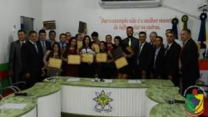 Magistrados de Machadinho D´Oeste recebem Moção de Aplausos da Câmara Municipal por serviços prestados à sociedade