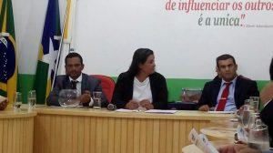 MACHADINHO : Vereadores participam da primeira sessão do ano 2018 na Câmara