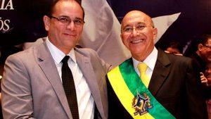 Governador de Rondônia se reúne com vice e anuncia renúncia para concorrer ao Senado.