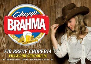 Machadinho : Em breve Choperia villa pub sertaneja.
