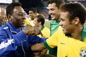 """Pelé """"Neymar na copa do mundo de 2018 terá uma segunda chance"""""""