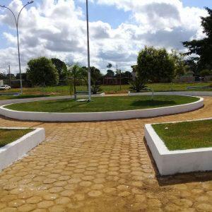 Machadinho: Prefeitura restaura Praça do Distrito de 5° Bec