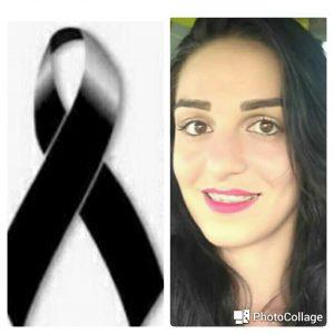 Machadinho: Nota de pesar pelo falecimento da jovem Loyane Partelli