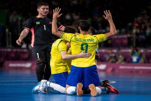 Brasil conquista o 1° ouro olímpico com futsal, derrontando a Rússia 4×1