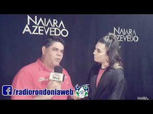 Machadinho: Tião Carreiro entrevista Naiara Azevedo antes do Show; Vídeo