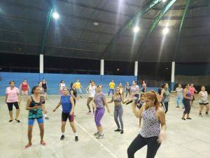 Machadinho: Prefeitura Municipal através da secretária de assistência social oferece aulas gratuitas de zumba fitness