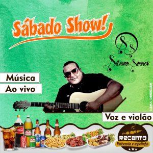 Machadinho: É neste sábado no Recanto o melhor da voz e violão com Silvano Soares, venha participar!