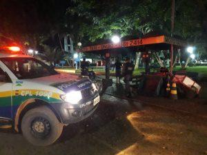 Machadinho: Polícia Militar realiza comando de abordagem na noite dessa quinta-feira