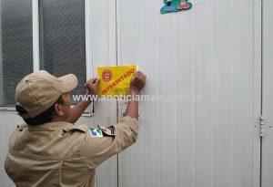 Corpo de Bombeiros, por orientação do MP, interdita escolas em RO que funcionavam em contêineres; uma em Jaru