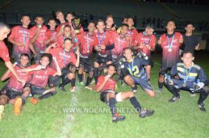 Equipe sub 20 de Machadinho D'Oeste é campeã da 1° Ji-Paraná Cup de futebol categorias de base