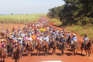 Cavalgada da Comitiva da Amizade acontecerá dia 10 de agosto na Água da Prata na linha M.A 16