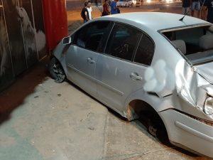 Acidente cinematográfico é registrado próximo do viaduto, em Ji-Paraná, RO