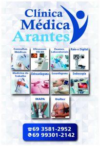 Machadinho: A clínica médica e laboratório Arantes está em novo endereço, mais ampla e com aparelhos de última geração