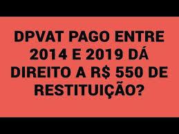 DPVAT pago entre 2014 e 2019 dá direito a R$ 550 de restituição?