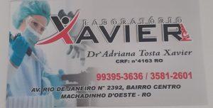Machadinho agora conta com o Laboratório Xavier; Venha cuidar da sua saúde!