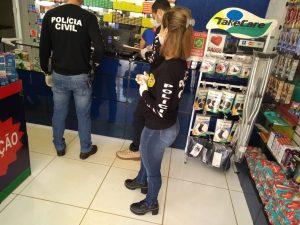 Machadinho: Policia civil realiza operação no comércio para combater preços abusivos