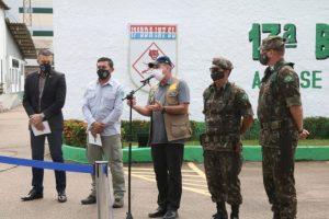 Ministro da Defesa visita Porto Velho e acompanha Operação Verde Brasil