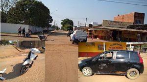 Machadinho: Fiat Pálio avança preferencial e causa acidente