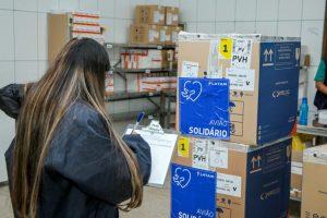 Rondônia recebe do Governo Federal nova remessa de vacinas contra a covid-19